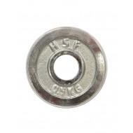 Диск хромированный 0,5 кг HouseFit DB C102-0.5