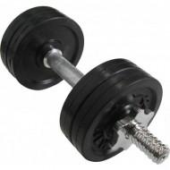 Гантель обрезиненная наборная стальная 6 кг Newt