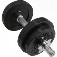 Гантель обрезиненная наборная стальная 8 кг Newt