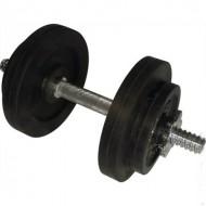 Гантель обрезиненная наборная стальная 10 кг Newt