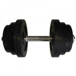 Гантель обрезиненная наборная стальная 14 кг Newt