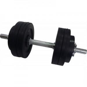 Гантель обрезиненная наборная стальная 16 кг Newt