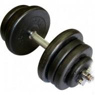 Гантель наборная стальная 25,5 кг Newt
