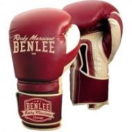 Боксерские перчатки BENLEE Graziano 16 ун. (199104/2025) Бордовый