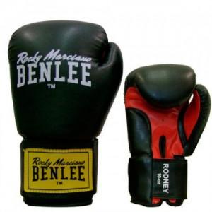Боксёрские перчатки BENLEE Rodney 12 ун. (194007/1503) Черный/Красный
