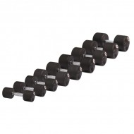 Гантель обрезиненная STEIN Rubber Dumbbell DB3051-27,5 кг