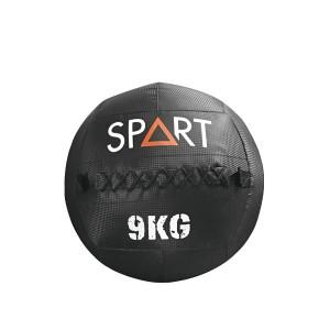 Большой медбол с ярким дизайном SPART Medicine CD8031-9 кг