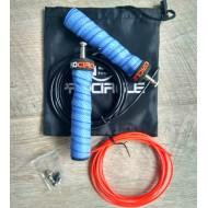 Легкая высокоскоростная регулируемая скакалка для кроссфит в стильном мешке со сменным тросом  ProCircle