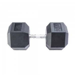 Гантель гексагональная InterAtletika 50 кг MD2102-50