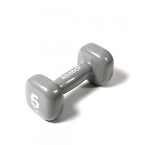 Гантель Reebok RAWT-11155 - 5 кг, серая