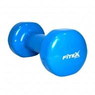 Гантель виниловая Fitex MD2015-3V, 3 кг
