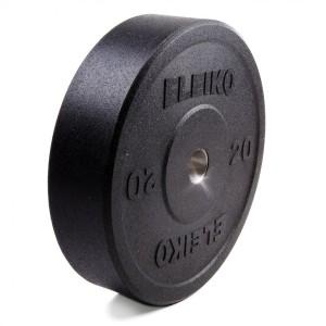 Диск Eleiko амортизирующий XF 20 кг черный 3002219-20