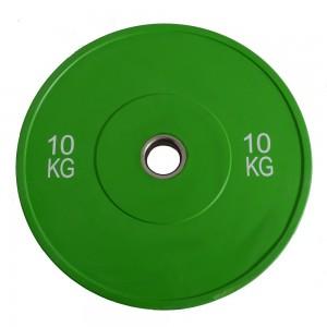 Диск бамперный Explode PP227-10 10 кг
