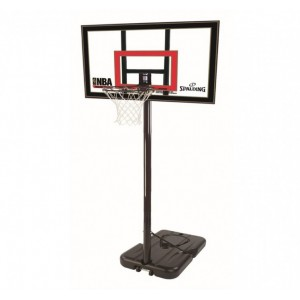 """Баскетбольные щиты и стойки. Spalding Highlight Acrylic Portable 42"""" 77799CN"""