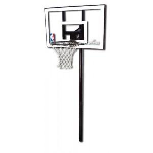 """Баскетбольные щиты и стойки. Spalding Silver In Ground 44"""" 88596CN"""