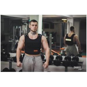 Жилет-утяжелитель 1-40 кг ( 46-50 р) ZT-0103 Onhillsport
