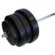 Штанга наборная композитная в пластиковой оболочке Newt Rock Pro 88 кг