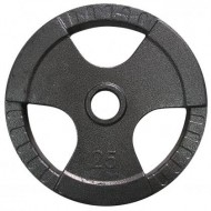 Диск олимпийский с хватами Newt 25 кг TI-N-025