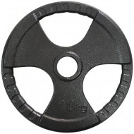 Диск олимпийский с хватами Newt 10 кг TI-N-010