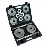 Домашний гантельный набор FitLogic Home Dumbbell Hammer Set Box 20kg