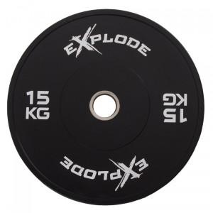 Диск бамперный Explode PP207-15 15 кг