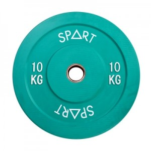 Бамперные диски цветные 10 кг Spart Bumper Plates Color 10 kg