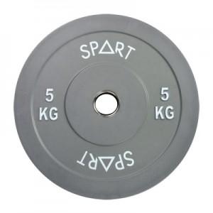 Бамперные диски цветные 5 кг Spart Bumper Plates Color 5 kg