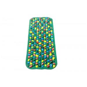 """Коврик-дорожка массажный с цветными камнями """"ортопед-стандарт"""" Onhillsport 100х40 см"""