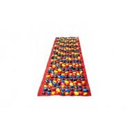 """Коврик-дорожка массажный с цветными камнями """"ортопед-стандарт"""" Onhillsport 150х40 см"""